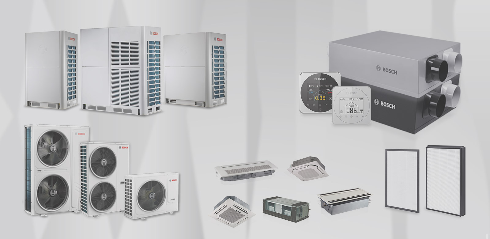 Central Air-Conditioning/ Ventilation System/ Residential Air Purification