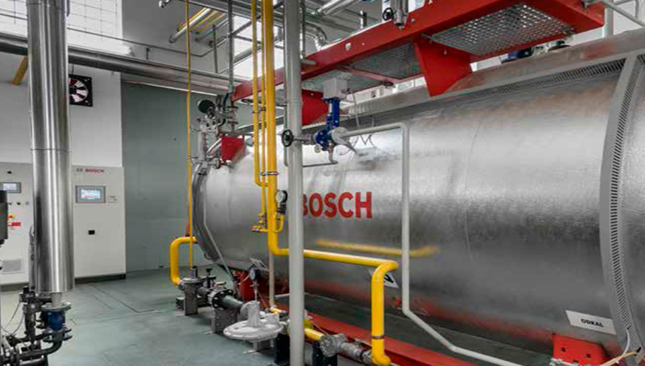 Commercial and industrial boiler solution